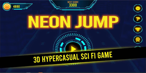 Télécharger Neon Jump mod apk screenshots 1