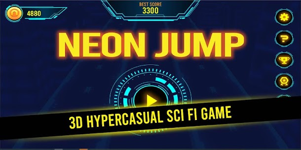 Neon Jump  Apps For Pc – Guide To Install  (Windows 7/8/10/mac) 1