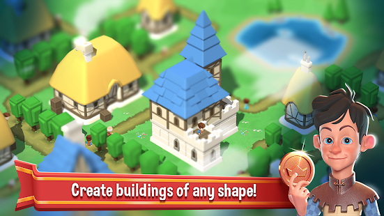 Crafty Town - Merge City Kingdom Builder Mod Apk