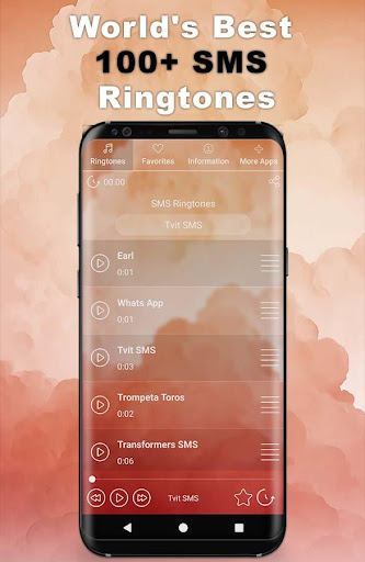 Best SMS Ringtones 2021 ud83dudd25 | 100+ SMS Sounds 1.6 Screenshots 1