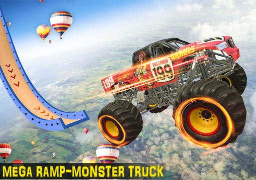 Ramp Monster Truck Stunts:New Racing Games 2.1 screenshots 11