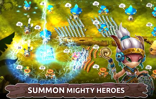 Mushroom Wars 2: RTS Tower Defense & Mushroom War apkpoly screenshots 2