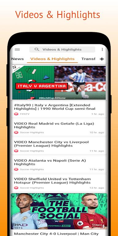 Football Pro: Soccer Scores, Football News, Videos  poster 6