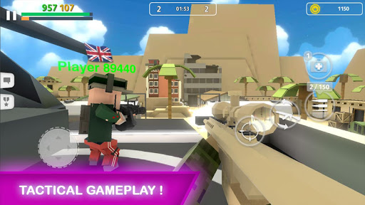 Block Gun: FPS PvP War - Online Gun Shooting Games  screenshots 2