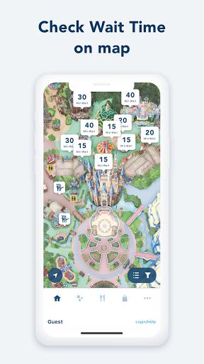Tokyo Disney Resort App  screenshots 1