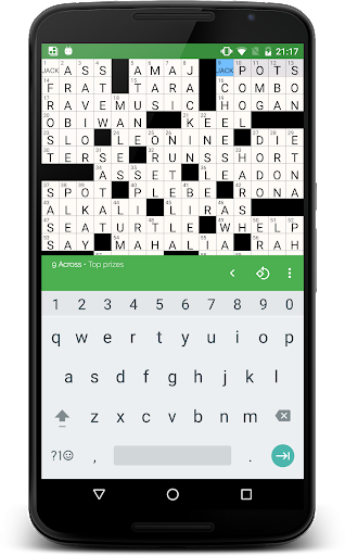 alphacross Crossword apkslow screenshots 4