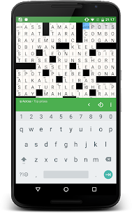 Free alphacross Crossword 4