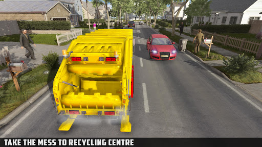 Modern Trash Truck Simulator - Free Games 2020  screenshots 4