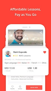 italki: Learn languages with native speakers Screenshot