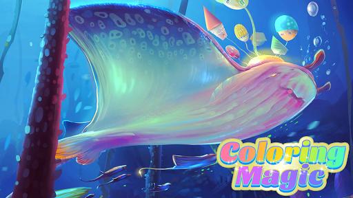 Coloring Magic: Paint by Number Free Art Games apktram screenshots 24