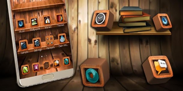 Wooden Touch Launcher For Pc – Free Download In Windows 7/8/10 & Mac 4
