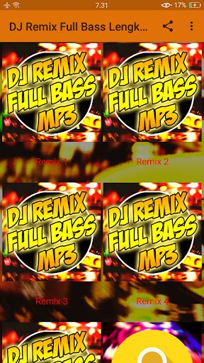 DJ Remix Full Bass Lengkap MP3  screenshots 1