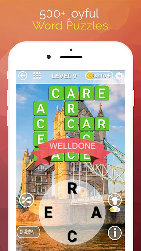 Word Travel:World Tour via Crossword Puzzle Game 3.42 screenshots 1