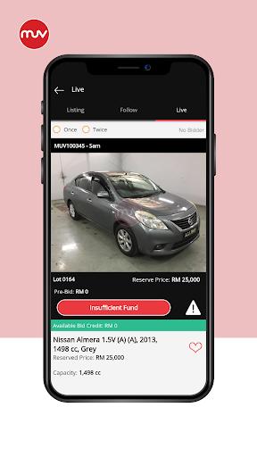 muv buyer screenshot 1