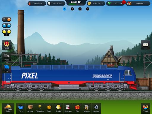 Train Station: Railroad Transport Line Simulator Apkfinish screenshots 23