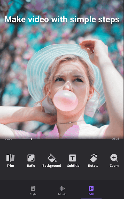 Video Maker of Photos with Music & Video Editor  poster 2
