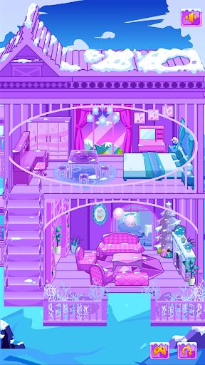 Frozen Dollhouse Design,Ice Dollhouse for girls  screenshots 8