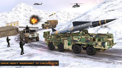 Army Truck Driving Simulator: New Offline Games 3D  screenshots 4