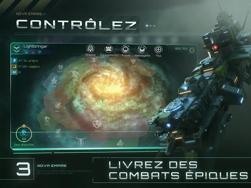 Télécharger Gratuit Nova Empire: Commandant spatial -MMOde stratégie apk mod screenshots 4