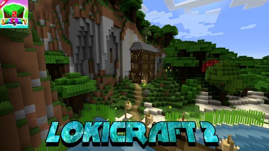 Lokicraft - Building And Crafting 2021 1.1 Screenshots 5