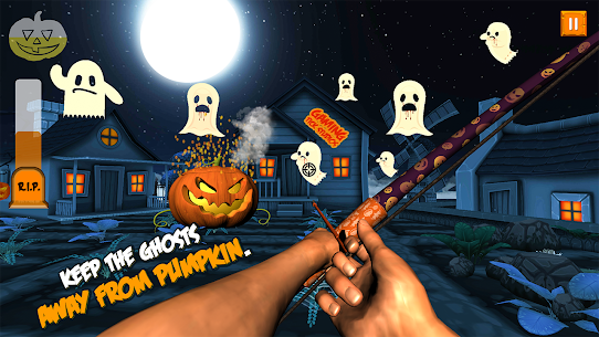 Ghosts & Witches Hunting to Save Halloween Pumpkin Hack Online [Android & iOS] 4