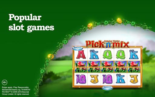 Rainbow Riches Casino: Slots, Roulette & Casino screenshots 6