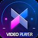 Video Player - Play & Watch HD Video Free - 動画プレイヤー&エディタアプリ