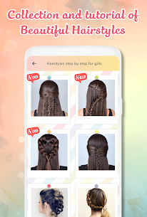 Hairstyle Apk app Hairstyles step by step for girls for Android 2