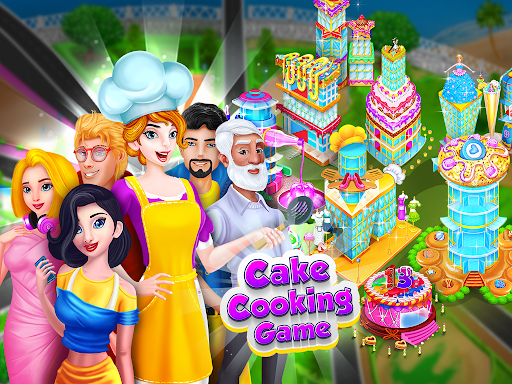 My Bakery Shop: Cake Cooking Games screenshots 6