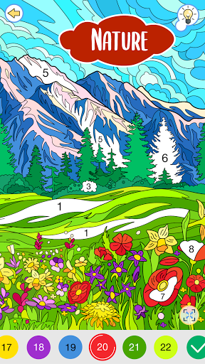Happy Canvasu2122 - Happy Paint Coloring Book android2mod screenshots 2