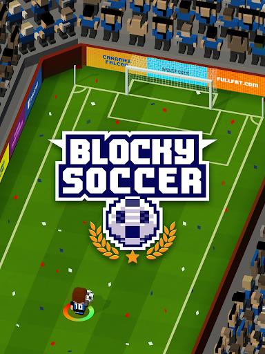 Blocky Soccer screenshots 13