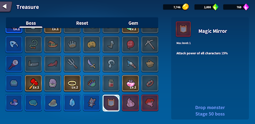 Treasure Hunter: Find the Legendary - Idle RPG modavailable screenshots 3