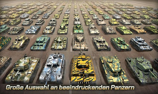 Tank Legion 3D online PVP Panzer game Screenshot