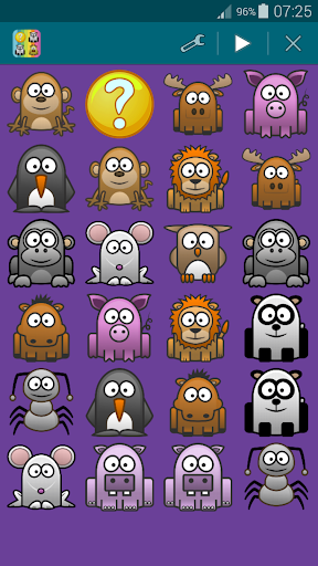 Animals 1, Memory Game (Pairs) For PC Windows (7, 8, 10, 10X) & Mac Computer Image Number- 25
