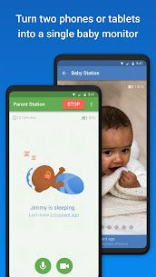 Baby Monitor 3G – Video Nanny & Camera [MOD, Paid] For Android 2