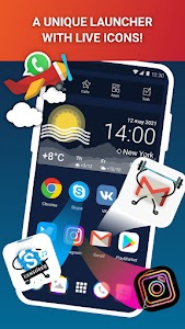 Launcher Live Icons for Android 3.8.376