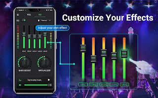 Equalizer & Bass Booster - Music Volume EQ