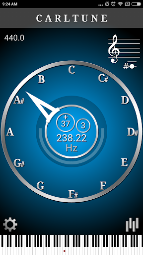 CarlTune - Chromatic Tuner  screenshots 1