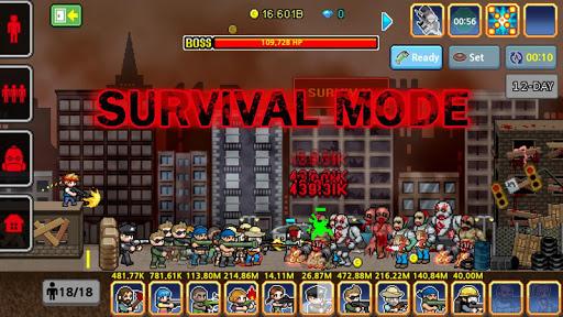 Télécharger Gratuit 100 DAYS - Zombie Survival mod apk screenshots 2