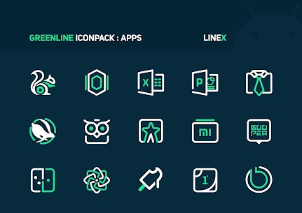 GreenLine Icon Pack APK Download for Android 5