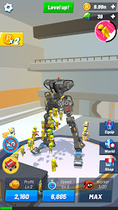Idle Robot Inc – Idle, Tycoon  Simulation Apk Download 2021 1