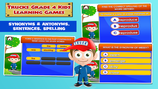 4th Grade Educational Games 3.20 screenshots 3