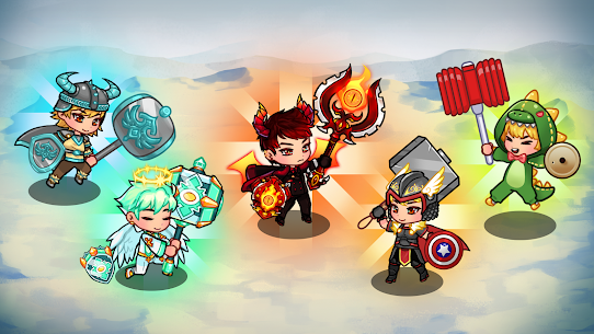 Hammer Hero – Idle RPG MOD APK 1.13 (Unlimited Diamond) 6