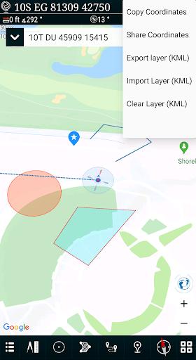 Mgrs & Utm Map apktram screenshots 7