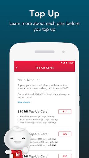 Singtel Prepaid hi!App android2mod screenshots 3