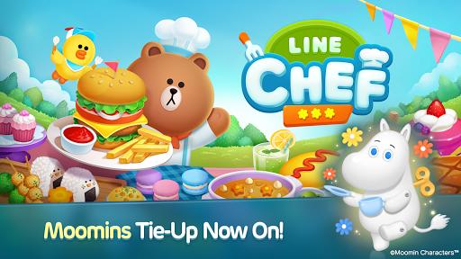 LINE CHEF Moomin Tie-Up uff5e3/18! 1.12.1.0 screenshots 1