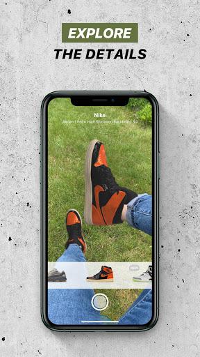 Wanna Kicks : AR sneakers try on  Screenshots 4