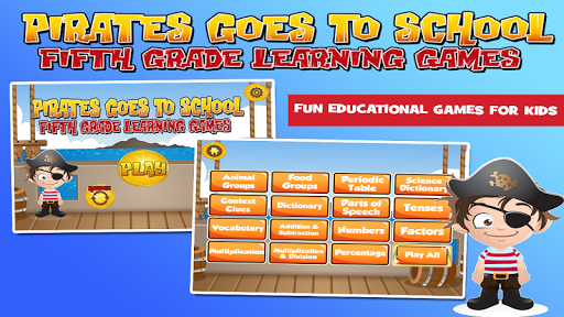 pirates fifth grade learning screenshot 1