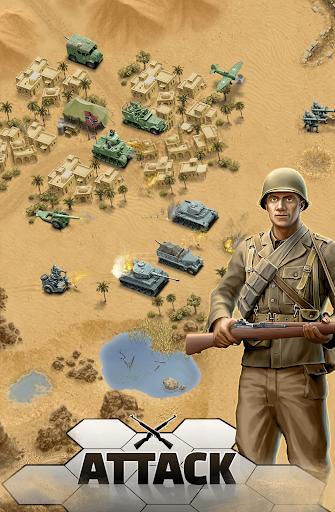 1943 Deadly Desert - a WW2 Strategy War Game 1.3.2 screenshots 1