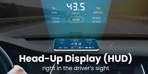 Digital Speedometer - GPS Offline odometer HUD Pro 3.5.7 Screenshots 12